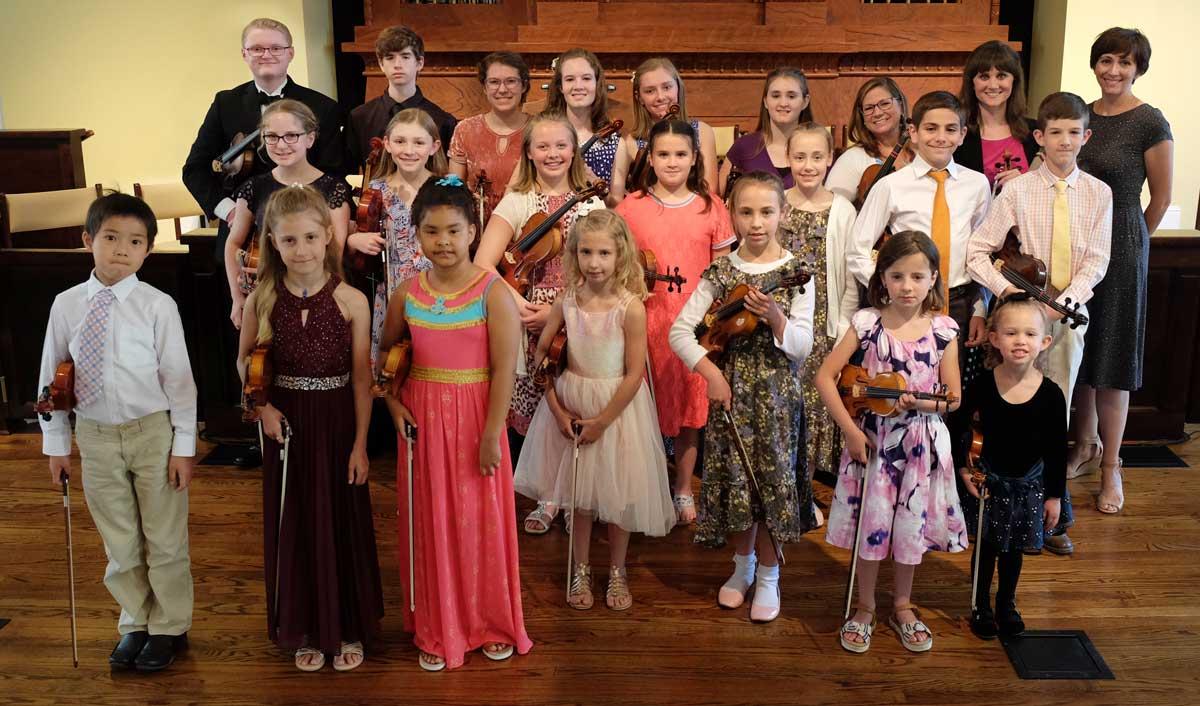 Nashville Suzuki Violin Students